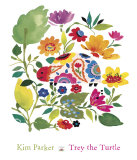 Trey the Turtle Print by Kim Parker