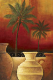 Sunset Palms I Prints