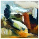Melodía abstracta Lámina por Viola Lee