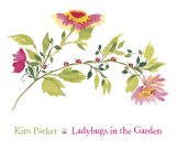 Lady Bugs in the Garden Affiche par Kim Parker