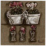 Fleurs Roses Posters by Myriam Berthoud