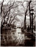 Regenschauer im April Kunstdrucke von Toby Vandenack