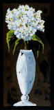 Happy Hydrangea Art by Ruby Adams