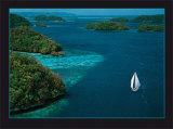Sailing Palau Prints by Georges Bosio