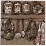 Cuisine et Passoire Prints by Myriam Berthoud