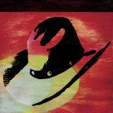 Cowboy Hat Print by Lucinda Lewis