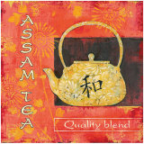 Assam Tea Poster by Stefania Ferri