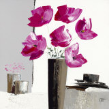 Pivoines Roses II Prints by Bernard Ott