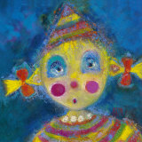 Petit Clown Nina Poster by Sophie Jourdan