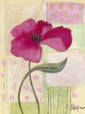 Pink Poppies II Print by Milena More