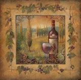 Villa Sole Affiche par Elaine Vollherbst-Lane