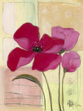 Pink Poppies I Prints by Milena More