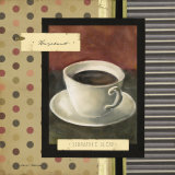 Drinking Hazelnut Coffee Posters by Carol Robinson