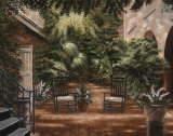 Courtyard in New Orleans I Prints by Betsy Brown