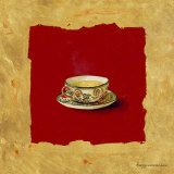 Teatime Prints by Maritta Haggenmacher