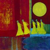 Red Carpet II Kunstdrucke von Marjolijn Van Ginkel