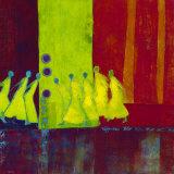 Red Carpet I Posters by Marjolijn Van Ginkel