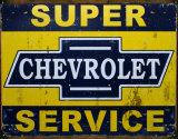 Super Chevy Service Plaque en métal