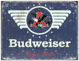 Budweiser 1936 Tin Sign