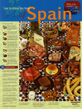 Food of Spain, Laminated Poster