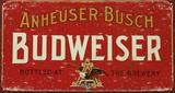 Budweiser - Metal Tabela