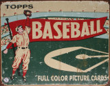 Topps Baseball 1954 Plaque en m&#233;tal