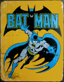 Batman Plaque en m&#233;tal
