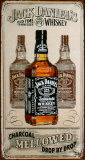 Jack Daniels Charcoal Blikskilt
