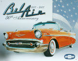 Chevy Bel Air 50th Placa de lata