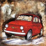 Fiat 500 Art by Sergio Lombardino