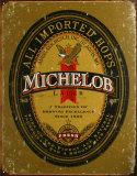 Michelob Plaque en métal