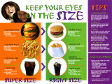Keep Your Eyes On The Size Posters