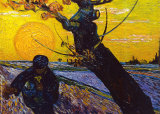The Sower, c.1888 Posters by Vincent van Gogh