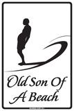 Old Son of A Beach Plakietka emaliowana