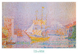 Le Port de Marseille Print by Paul Signac