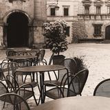 Caffe, Toscana Print by Alan Blaustein