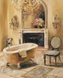 French Bath I Affiche par Marilyn Hageman