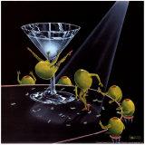 Even Dirtier Martini Plakater af Michael Godard