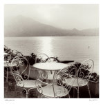 Caffe, Varenna Print by Alan Blaustein