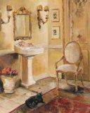 French Bath II Affiches par Marilyn Hageman