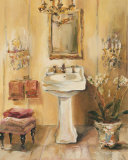 French Bath III Poster von Marilyn Hageman
