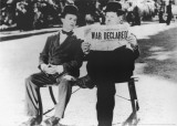Laurel and Hardy in Il Compagno B Art