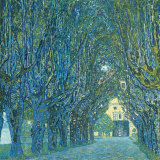 Viale Alberato Psters por Gustav Klimt