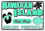 Hawaiian Island Tin Sign
