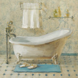 Victorian Bath III Art by Danhui Nai
