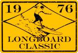 1976 Longboard Classic Plaque en métal