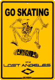 Go Skating Cartel de chapa