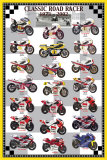 Classic Road Racers 1973-2002 Posters