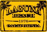 Laguna Beach California Blechschild