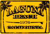 Laguna Beach California Cartel de chapa
